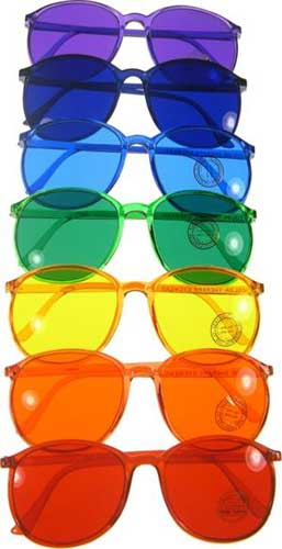 colour sunglasses