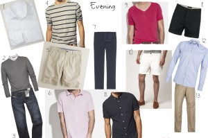 mens summer capsule wardrobe